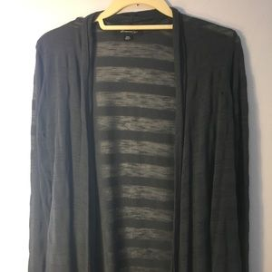 Forever 21 Grey Cardigan- Size M